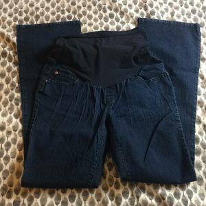Full panel maternity jeans